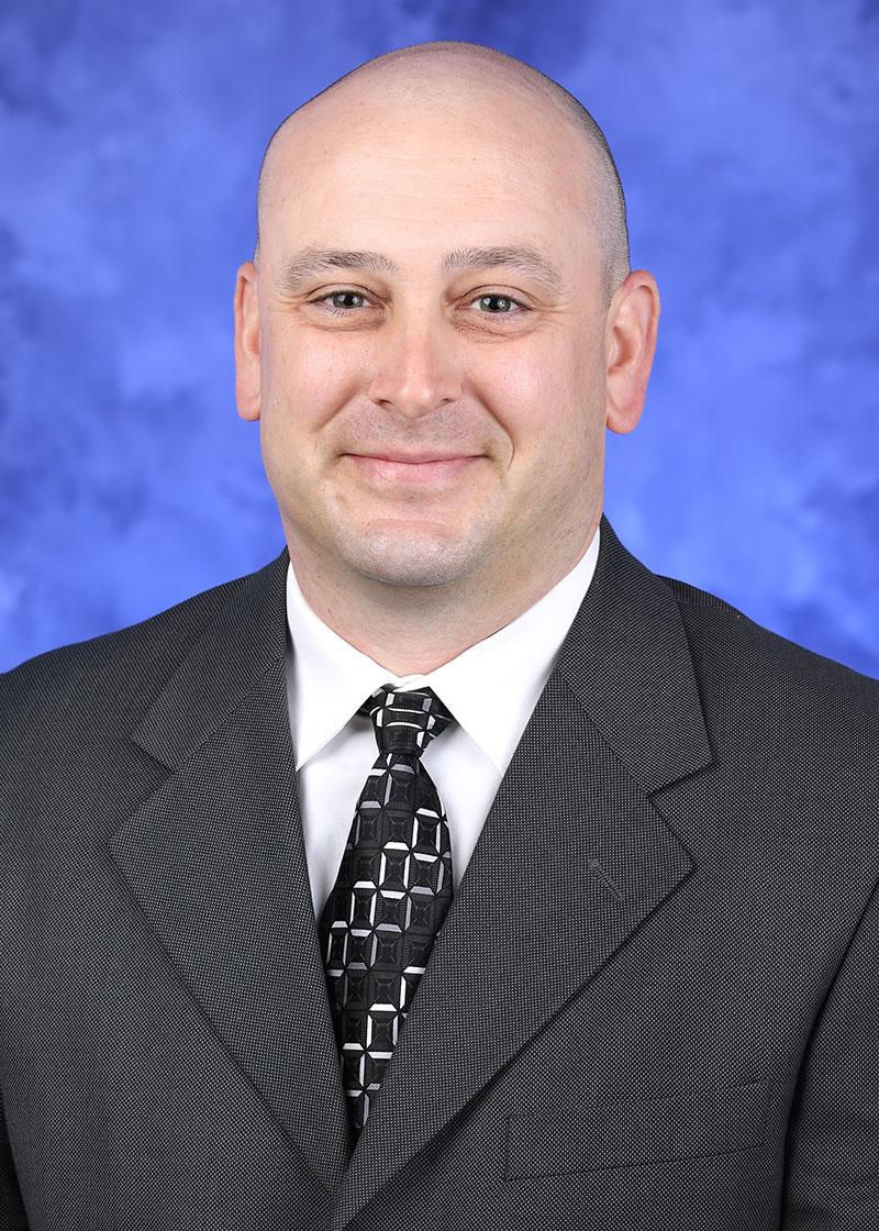 A headshot photo of Chad Lauro